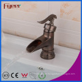 Fyeer High Quality Antique Brass Bathroom Basin Faucet