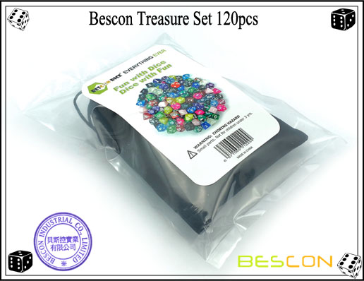 Bescon Treasure Set 120pcs-2