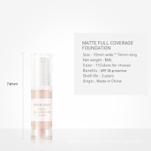 High Quality Hotselling Make Up Base Natural Fashion New Style Design Different color Liquid Concealer