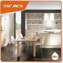 Cabinet de cuisine en vinyle en bois de bon service