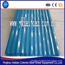 color coat metal roof tiles/ roofing sheet / colorful steel roofing tile