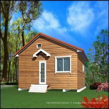 Maison en acier modulaire / maisons à quilles en acier léger (MV-12)
