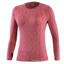 Long Sleeves Fitness Frauen Yoga Training Laufsport T-Shirt