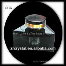 Belle bouteille de parfum en cristal C175