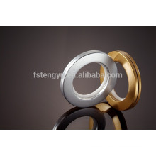 43mm Golden Plating Curtain Plastic Eyelets Drapery Curtain Ring