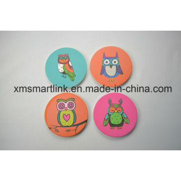 Souvenir Owl Artwork Printing Coaster Gifts