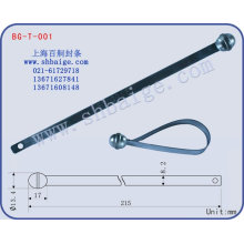 metal flat seal for security use BG-T-001