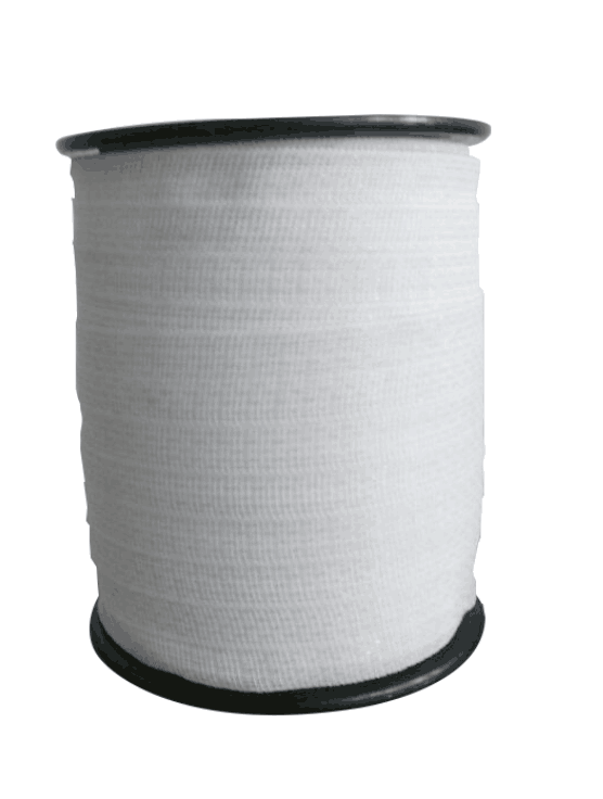 White Poly Tape 4cm for electric fencing