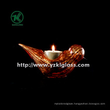 Single Color Glass Candle Cup (14.5*6*7)