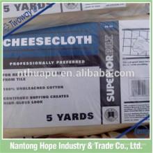 cheesecloth de coton jetable