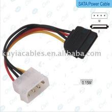 NEUE IDE zu Serial ATA SATA HDD Netzteilkabel (Sata Power Kabel)