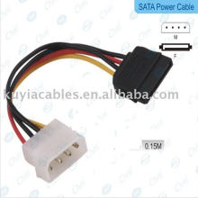 NOUVEAU IDE à Serial ATA SATA HDD Câble adaptateur secteur (Sata Power Cable)