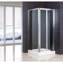 Puerta de ducha Bifold de esquina / Recinto de ducha / Wa-Bs090