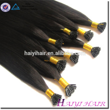 Virgin Remy Full Cuticle Tangle And Shedding Free I Tip Hair Design For Girls