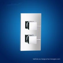 Doble maneja la válvula de ducha termostática