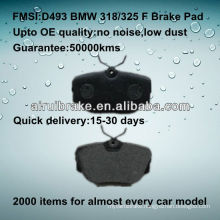 D493 car brake pad for BMW 325/318
