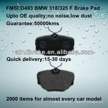 D493 carro freio pad para BMW 325/318