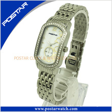 2016 Hot Sale Ladies Watch avec bande en acier inoxydable Psd-2501