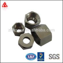 Porca hexagonal personalizada de aço inoxidável