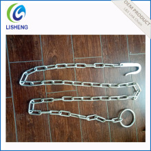 Galvanized Steel Ring & Hook Cow Chain
