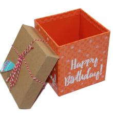 Empty Big Happy Birthday Present Gift Boxes