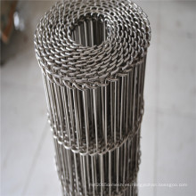 Buena cinta transportadora de la malla de alambre del acero inoxidable de la estabilidad