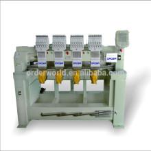 OEM-1204C 4 Cabeça máquina de bordar 12 agulhas flat / cap / vestuário bordado máquina com alta velocidade máquina de bordado