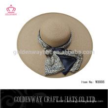 Mode Damen Stroh Boater Hüte schöne Kleid Hut