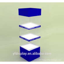 Hot Sell Acrylic Advertising Display Rack For Supermarket
