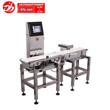 Machine de peseuse de contrôle d'industrie alimentaire