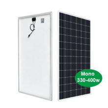 Panneau solaire mono 400W pour grande centrale électrique