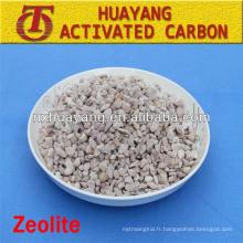Filtre naturel de zéolite de 1.8-2.4mm / zéolite pour le traitement de l'eau