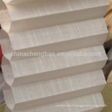 Chine fournisseur drap de lin plissé persiennes vénitiennes