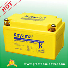Top Grade Motorcycle Battery 8.6ah 12V