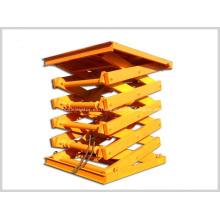 Plataforma fija de tijera elevadora fija de tijera