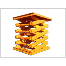 Fixed Scissor Car Lift Stationary Scissor Lift Platform