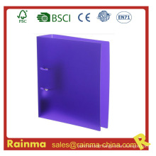 PP Material Purple Color Arch Lever File Folder