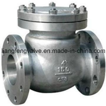 Válvula de retención de extremo de brida RF con acero inoxidable