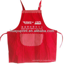 35% algodão 65% poliéster twill bordado kithchen babador aventais eco-friendly cozinha promoção avental AT-1004