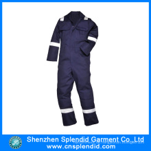 Guangdong Arbeit Uniform Design Navy Blau Anti-Static Overalls