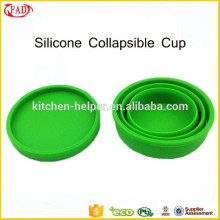 Hot Selling Portable Collapsible Silicone Coffee Cup