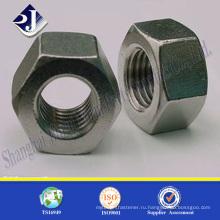 Высокопрочная шестигранная гайка A2-70 Шестигранная гайка Гайка из нержавеющей стали