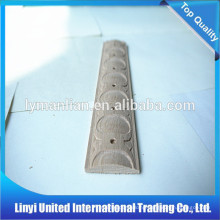 wholesale wood trim wood carved rosttes moulding/decorative ceiling/home interior wood moulding