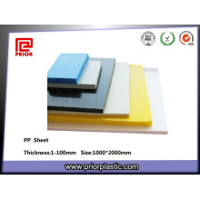 Different Colors PP Sheet Manufacturer in China
