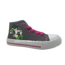 Zapatos de deporte de dibujos animados Cool Asian High Tobillo para niños (X169-S & B)