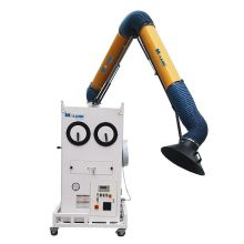 Extracción de cenizas de pulso manual con cilindro de filtro doble móvil