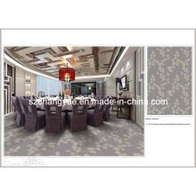 Hochwertiger bedruckter Polyester Wand zum Wand Hotel Teppich