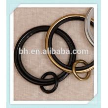 Кольцо занавеса металла черного золота серебра 50mm, зажим крюка кольца занавеса, кольца металла для занавесок