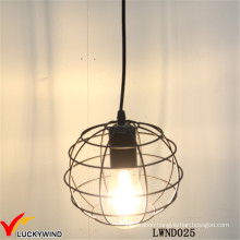 Rustic Vintage Wire Metal Ball Indoor Pendant Lamp
