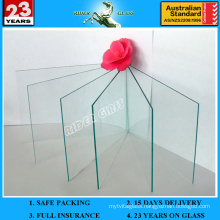 """1"""" Thick Clear Glaverbel Sheet Glass Panels for Building with AS/NZS2208: 1996"""